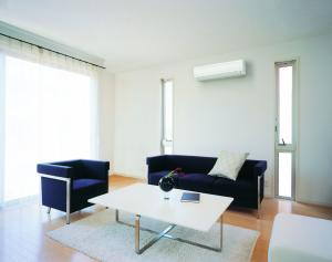 home air conditioner split system on wall